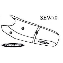 Housse de selle pour WaveRunner 500 & 650