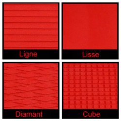 Rouleau de 1m x 1.50m rouge