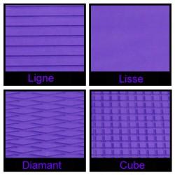 Rouleau de 1m x 1.50m violet