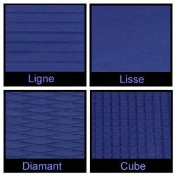 Rouleau de 1m x 1.50m bleu foncé