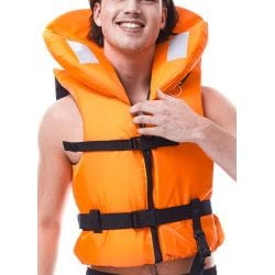 Gilet de sauvetage JOBE 100N Comfort Boating Vest Orange