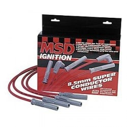 Kit de fil de bougie MSD 8,5mm Triple