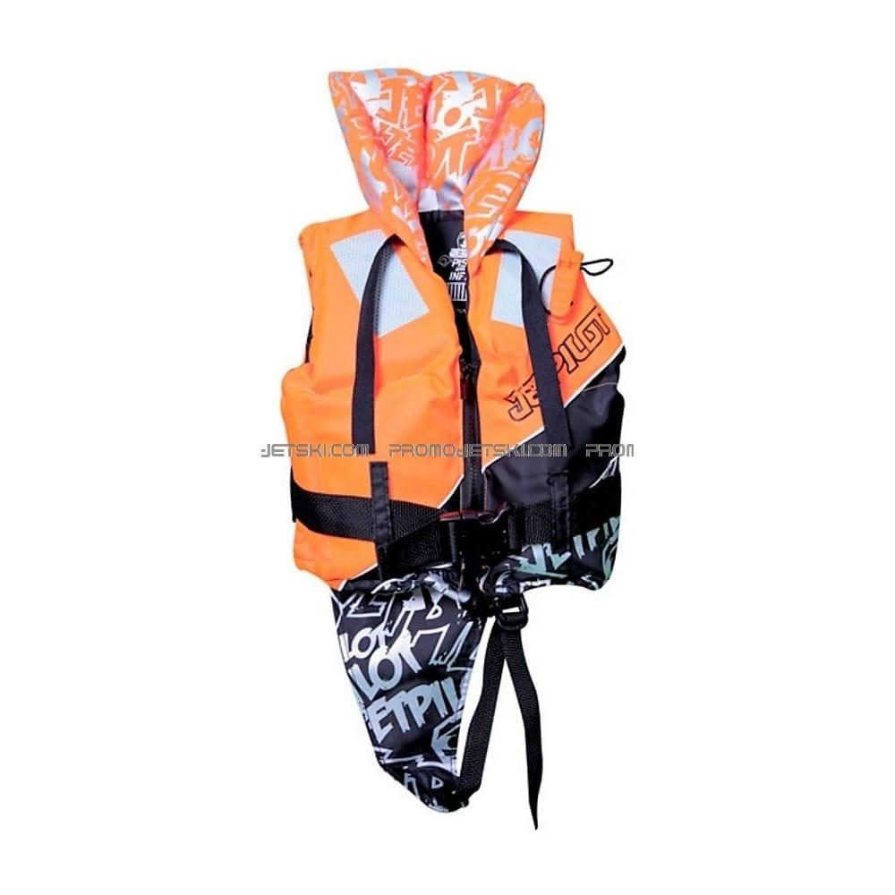 gilet de sauvetage enfant jetpilot infant 100n nylon vest orange promo jetski. Black Bedroom Furniture Sets. Home Design Ideas