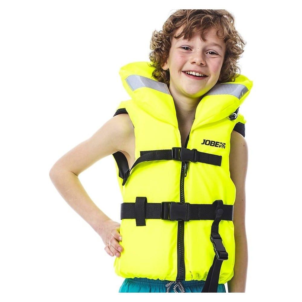 gilet de sauvetage enfant jobe 100n nylon jaune promo jetski. Black Bedroom Furniture Sets. Home Design Ideas