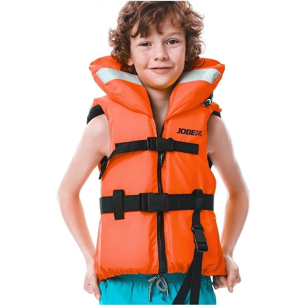 gilet de sauvetage enfant jobe 100n nylon orange promo jetski. Black Bedroom Furniture Sets. Home Design Ideas
