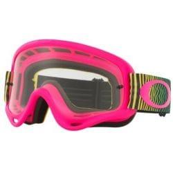 Masque OAKLEY O Frame Shockwave Pink/Yellow/Green écran transparent