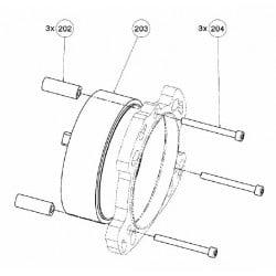 adaptateur turbine flyboard