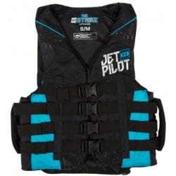 Gilet de sauvetage JETPILOT Strike 50N Nylon Black / Blue