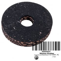 WASHER CAOUT. * RUBBER WASHER