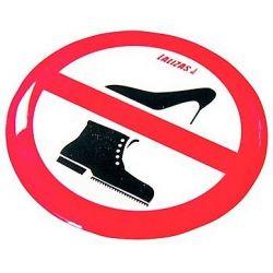 Sticker Silicone Humoristique Chaussures