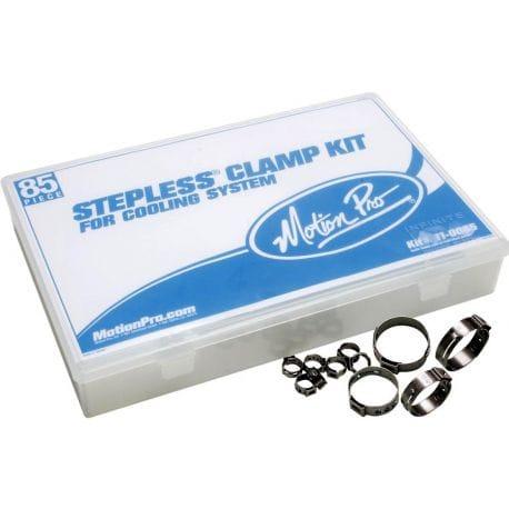 Kit de 85 Colliers de Serrage pour Système de Refroidissement