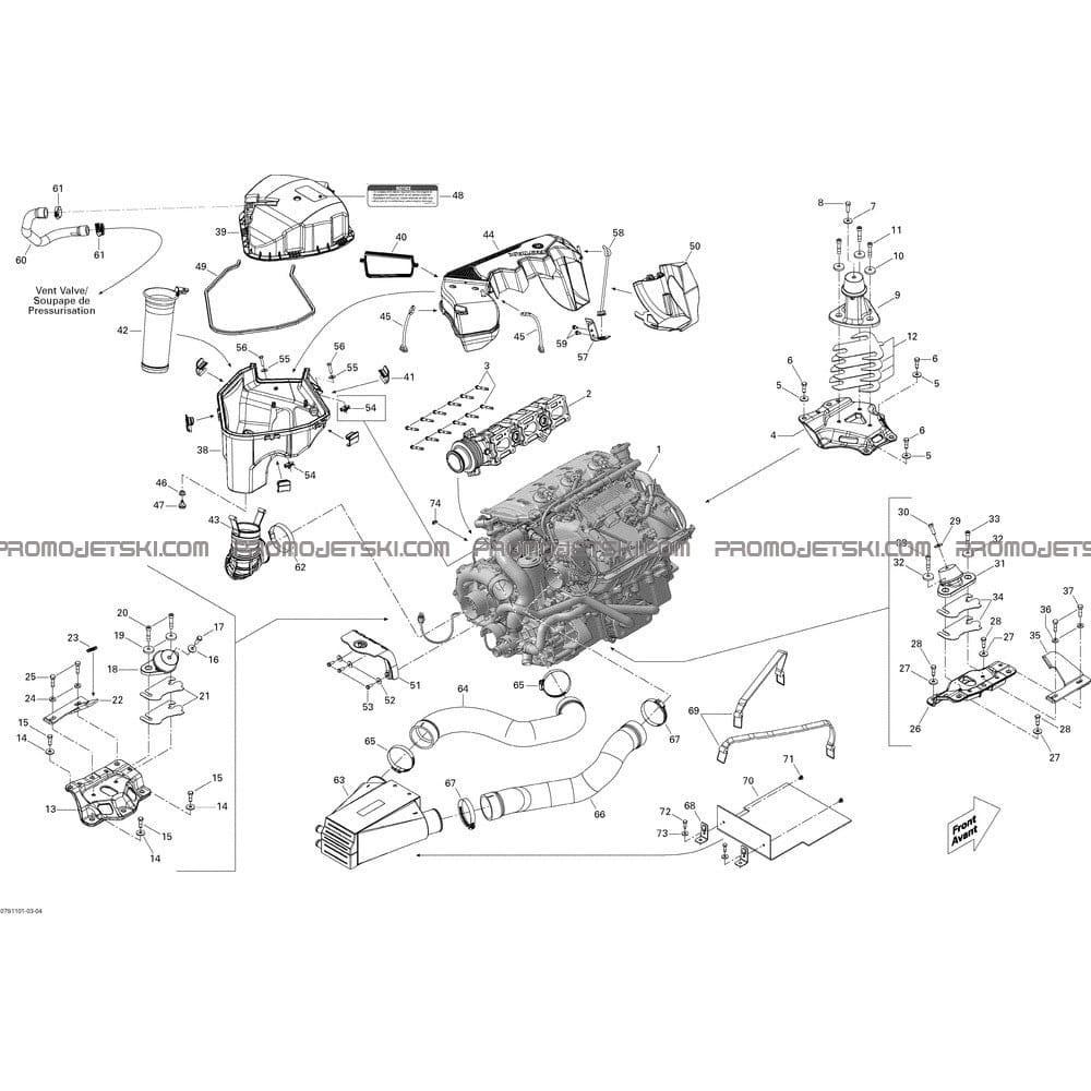 Semi Engine Diagram
