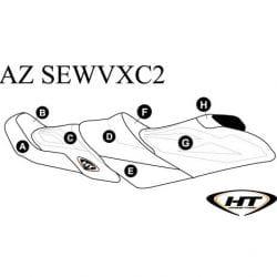 Housse (HT) VX Cruiser (15-17), VX Cruiser HO & VX Ltd (16-17)