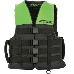 Gilet JETPILOT Strike 50N Nylon Black / Green
