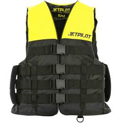 Gilet JETPILOT Strike 50N Nylon Black / Yellow