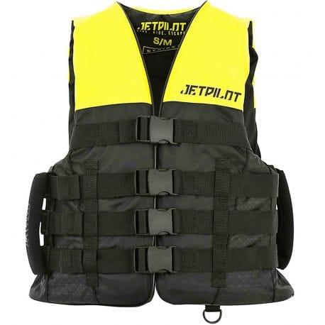 Gilet JETPILOT Strike 50N Nylon Black / Yellow