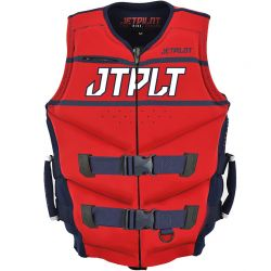 Gilet JETPILOT Néoprene Matrix Race Navy / Red