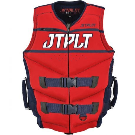 Gilet JETPILOT Néoprene Matrix Race Navy / Red