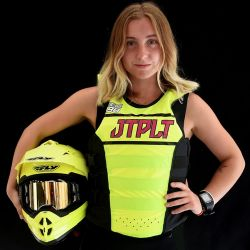 Gilet Femme JETPILOT Matrix Race Nylon Yellow / Pink