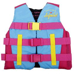Gilet Enfant 8/14 ans JETPILOT Cause Nylon 50N Blue / Pink