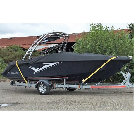 Wave Boat 656 Sundeck Bateau + Remorque**