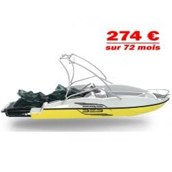 Wave Boat 525 Sealver Wake