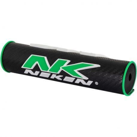 Mousse de guidon en tube NEKEN  Noir / Vert