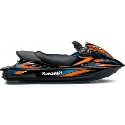 Kit Déco RACE pour 15F Orange & Bleu