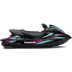 Kit Déco RACE pour 15F Turquoise & Rose