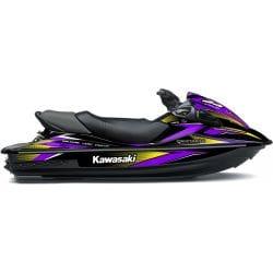 Kit Déco RACE pour 15F Violet