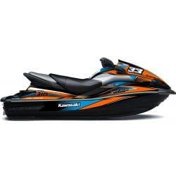 Kit Déco RACE pour Ultra Orange & Bleu