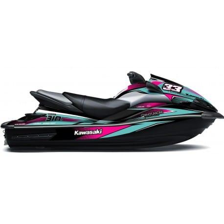 Kit Déco RACE pour Ultra Turquoise & Rose