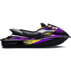 Kit Déco RACE pour Ultra Violet & Jaune