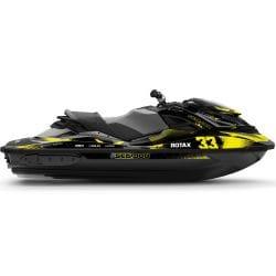 Kit Déco RACE RXP-X & GTR-X Noir
