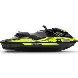 Kit Déco RACE RXP-X & GTR-X Jaune