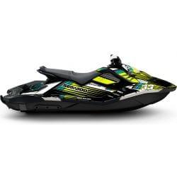 Kit Déco RACE pour Spark Jaune