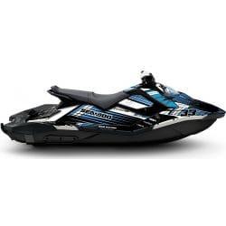 Kit Déco RACE pour Spark Bleu