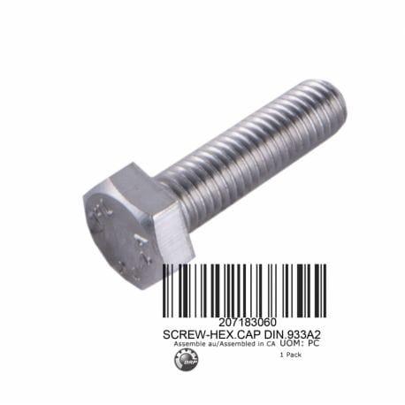 SCREW-HEX.CAP DIN.933A2
