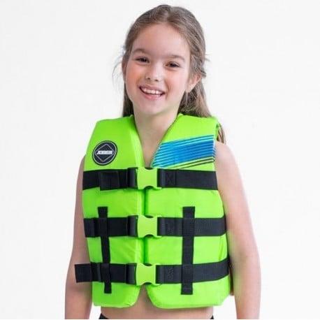 Gilet de sauvetage enfant JOBE Nylon Vert