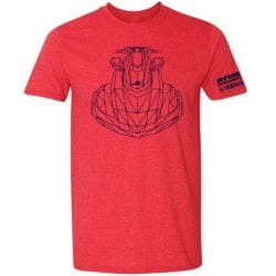 T-Shirt RIVA Racing - Iconic FX - Rouge