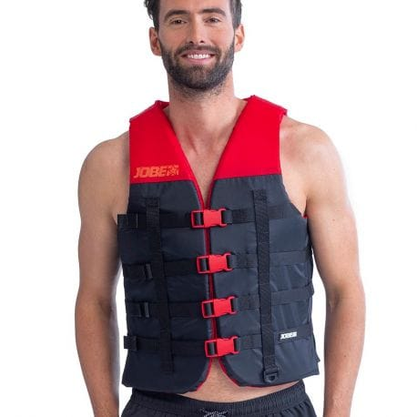 Gilet de sauvetage JOBE Nylon Dual Vest Rouge