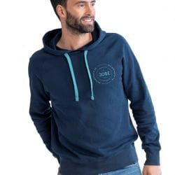 Sweat à Capuche JOBE Hooded Bleu