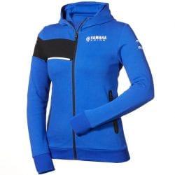 Sweat à capuche Yamaha Paddock Bleu pour femme