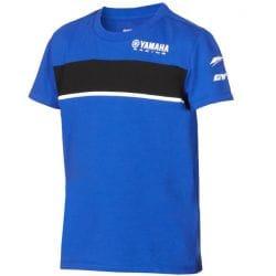 T-shirt Yamaha Paddock Bleu pour enfant