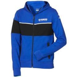 Sweat à capuche Yamaha Paddock Bleu pour homme