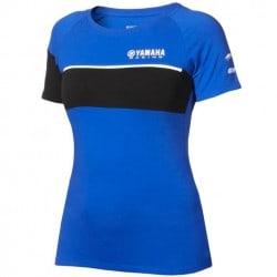 T-shirt Yamaha Paddock Bleu pour femme
