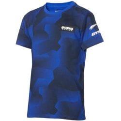 T-shirt camouflage Yamaha Paddock Bleu pour enfant