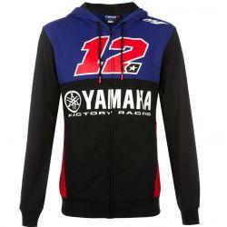 Sweat à capuche zippé Yamaha Viñales pour homme
