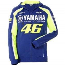 Sweat à capuche homme VR46 - Yamaha
