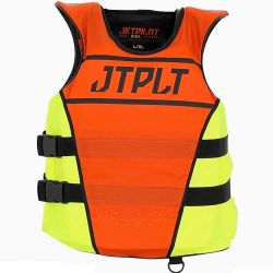 Gilet JETPILOT Matrix Race Nylon Orange & Jaune